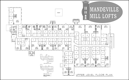 Mandeville Mill - Upper Level